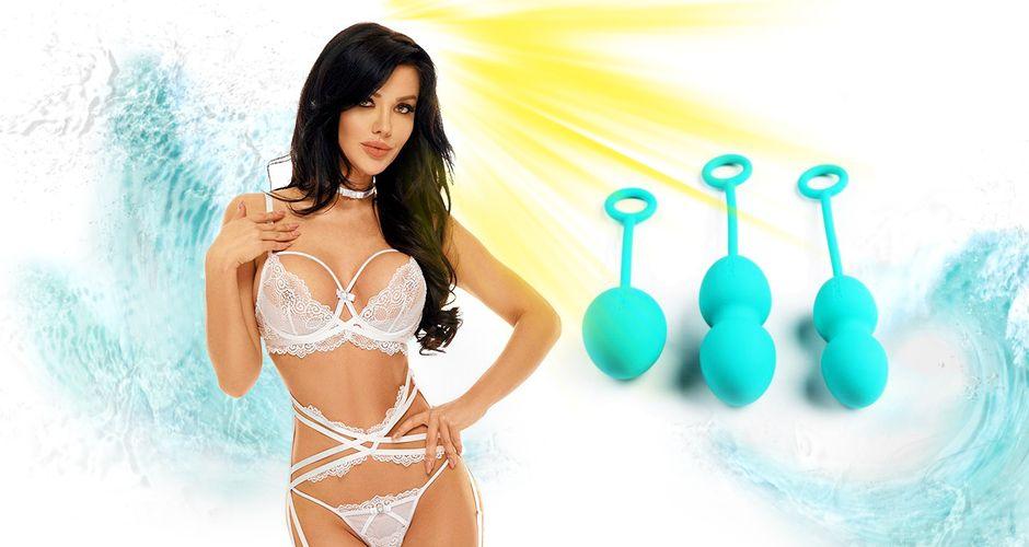 Вагинальные шарики со смещенным центром тяжести