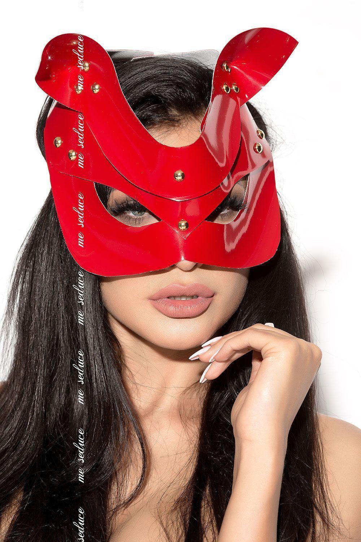 Красная маска MK12 фото