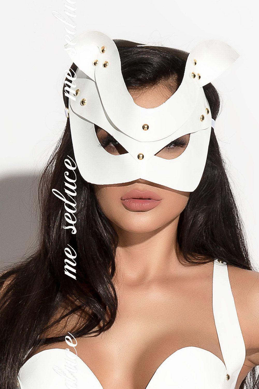 Белая маска MK13 фото
