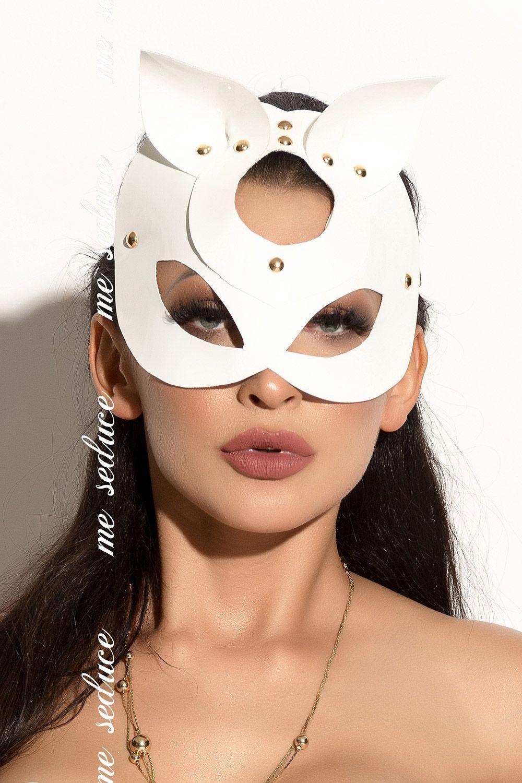 Белая маска MK16 фото