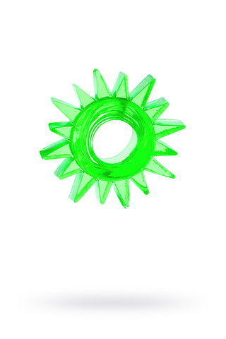 Эрекционное кольцо TOYFA, TPE, зеленый