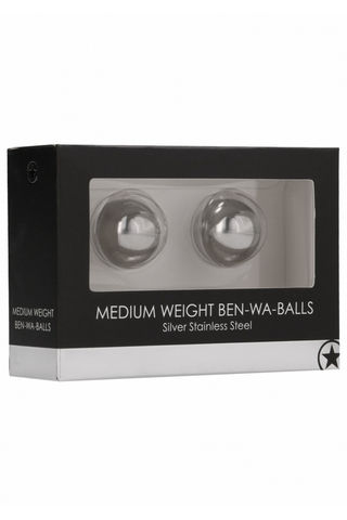 Металлические вагинальные шарики Medium Weight Ben-Wa-Balls