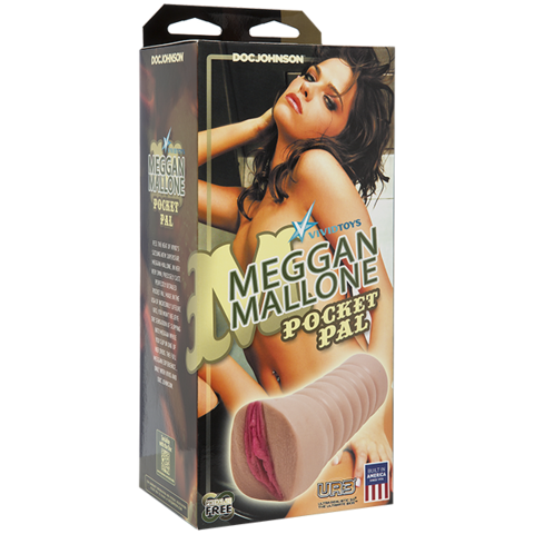 Мастурбатор вагина Vivid Girl: Meggan Mallone - UR3® Pocket Pal