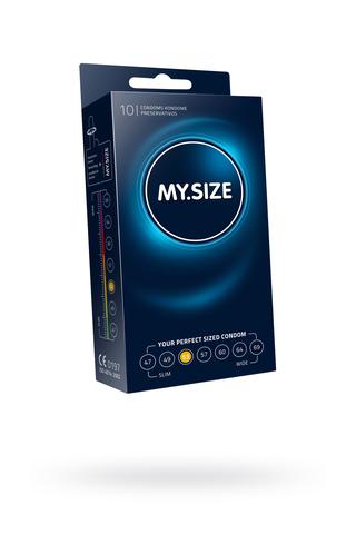 "Презервативы  ""MY.SIZE"" №10 размер 53 (ширина 53mm)"