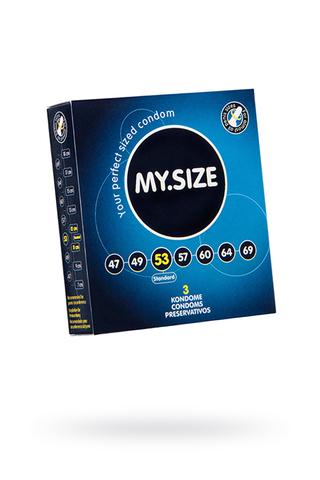 "Презервативы  ""MY.SIZE"" №3 размер 53 (ширина 53mm)"