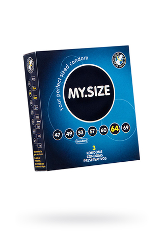 "Презервативы  ""MY.SIZE"" №3 размер 64 (ширина 64mm)"