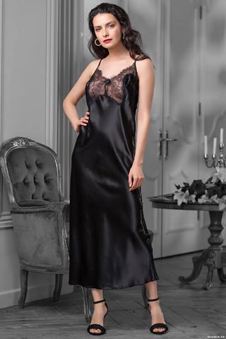 Длинная сорочка Mia-Amore, выполненная из струящегося искусственного шелка – жемчужина коллекции Мэдисон