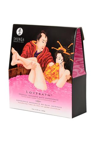 Гель для ванны Shunga «Драконов фрукт», розовый, 650 г