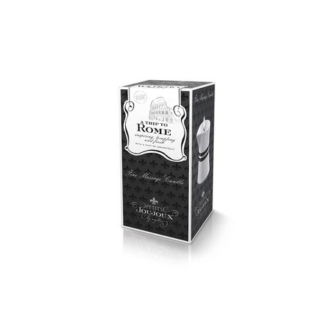 Petits Joujoux Rome Аромат –Грейпфтрут и бергамот, массажное масло в виде свечи. 120гр.