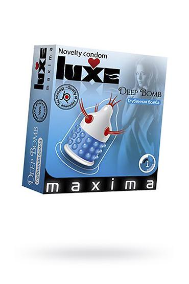 Презервативы Luxe Maxima Глубинная бомба №1 фото