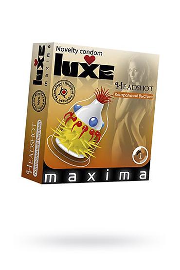 Презервативы Luxe Maxima Контрольный выстрел №1 фото