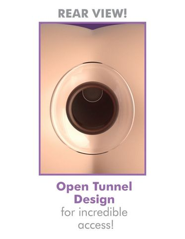 Анальный плаг с туннелем большого размера прозрачный Anal Fantasy Elite Large Anal Gaper