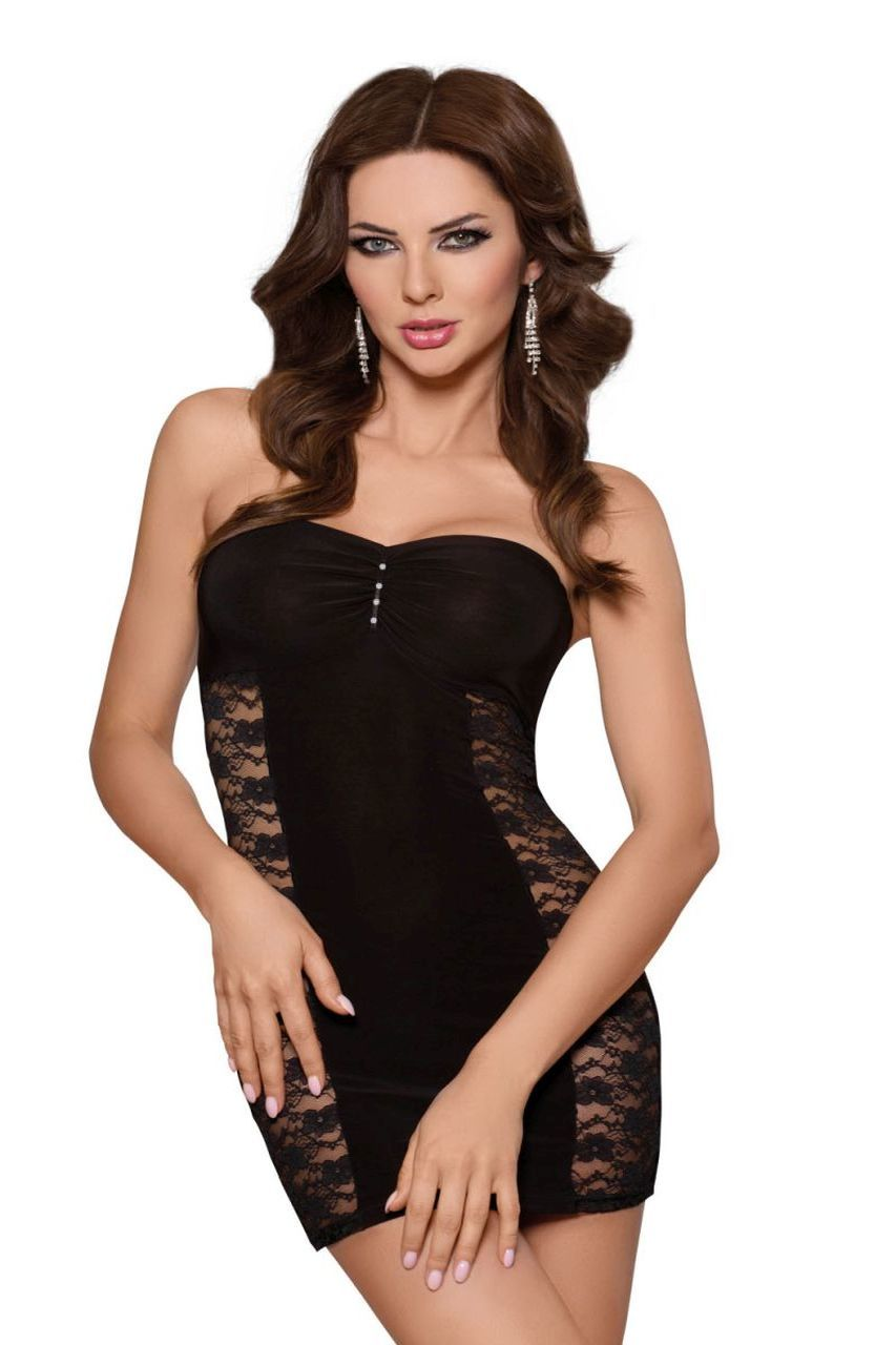 Платье SoftLine Collection Berenice, чёрный, L фото
