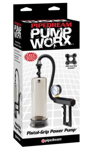 Помпа вакуумная для мужчин Pistol-Grip Power Pump
