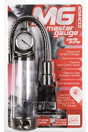 Master Gauge™ Penis Pump - Clear фото