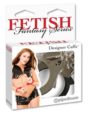 Наручники металлические Designer Metal Handcuffs фото