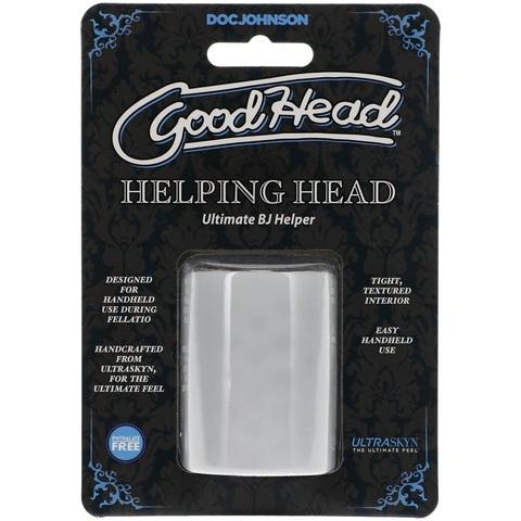 Открытый компактный мастурбатор GoodHead™ - ULTRASKYN™ Helping Head