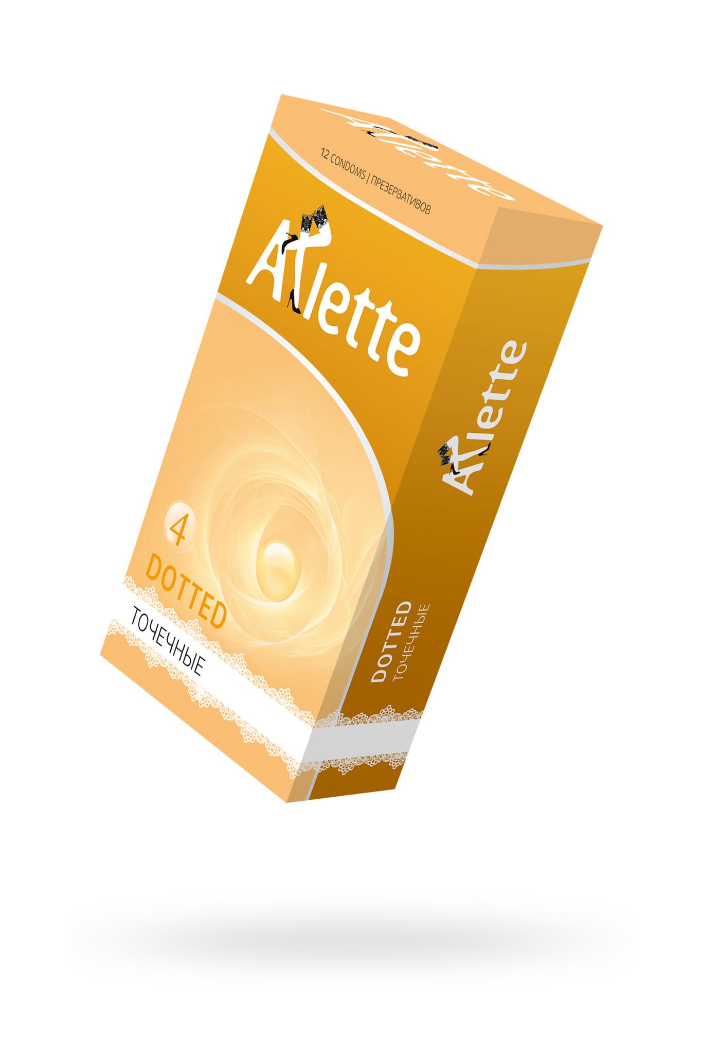 Презервативы Arlette №12, Dotted Точечные 12 шт. фото