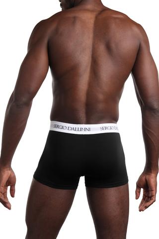 Мужские боксеры с гульфиком из премиального хлопкового материала с добавление эластичных нитей