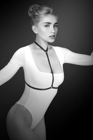 Bijoux Pour Toi Фиксация: упряжь на грудь Памэла Harnais de corps elastique Pamela