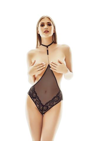Соблазнительное боди Xanthia с отгрытой грудью