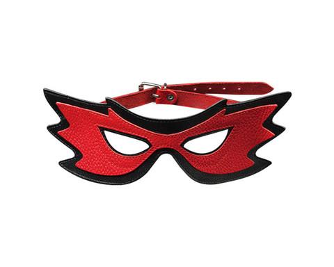 Маска «бабочка» красно-черная