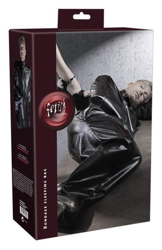 Фиксация, имитирующая спальный мешок Imitation Leather Sleepsack by fetish collection фото