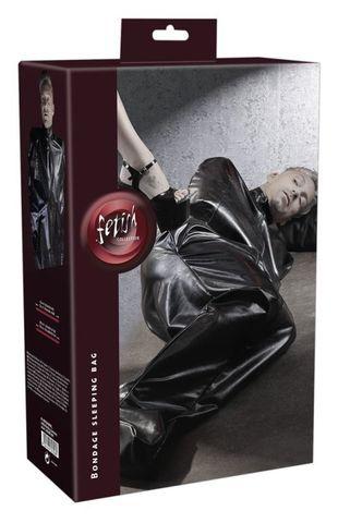 Фиксация, имитирующая спальный мешок Imitation Leather Sleepsack by fetish collection