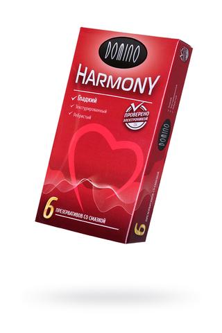 Презервативы Luxe DOMINO HARMONY Гладкий 6 шт. в упаковке