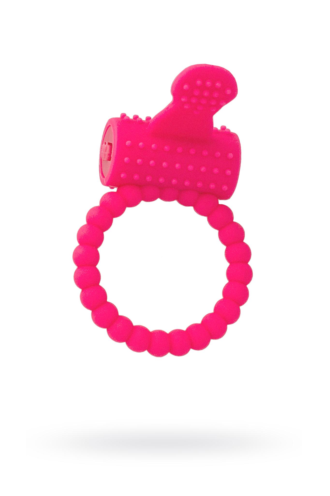 Эрекционное кольцо на пенис TOYFA A-Toys  , Силикон, Розовый, Ø3,5 см фото