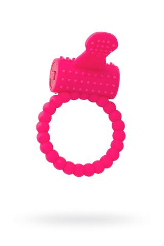 Эрекционное кольцо на пенис TOYFA A-Toys  , Силикон, Розовый, Ø3,5 см