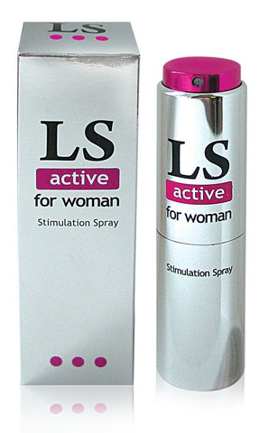 Спрей для женщин (стимулятор) LOVESPRAY ACTIVE, 18 г