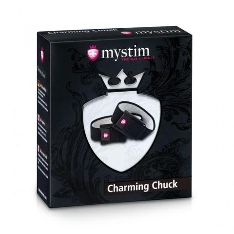 Charming Chuck Электростимулятор кольца для мошонки и пениса