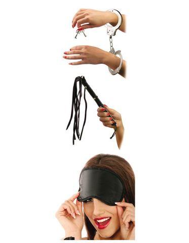 Fetish Fantasy Series набор Lover's Fantasy Kit: наручники+плетка+маска