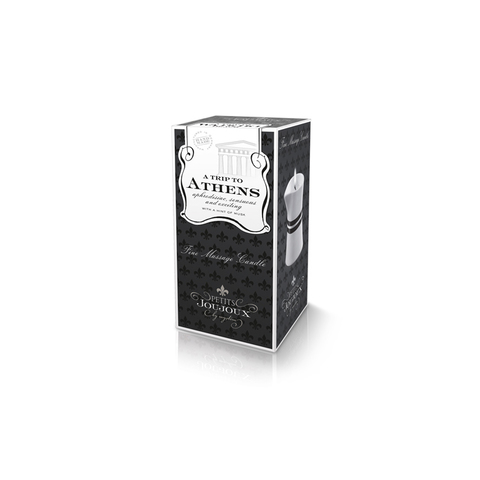 Petits Joujoux Athens Аромат –Мускат и пачули, массажное масло в виде свечи. 120гр.