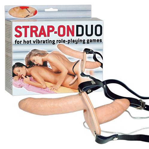 Страпон двойной для женщин с вибрацией фото