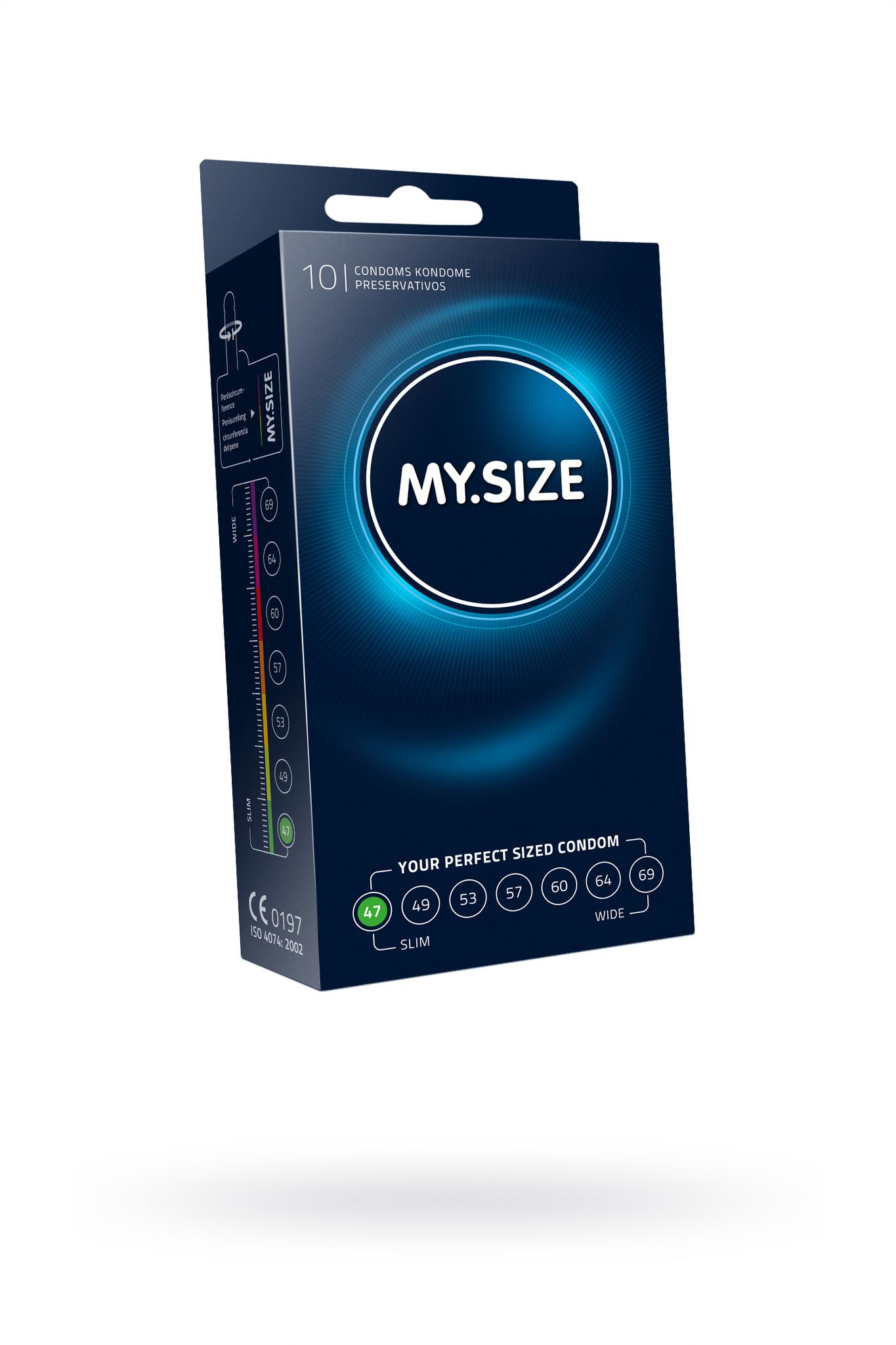 Презервативы  MY.SIZE №10 размер 47 (ширина 47mm) фото