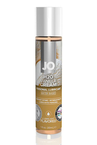 Ароматизированный лубрикант Ваниль на водной основе JO Flavored Vanilla H2O 1oz (30 мл)