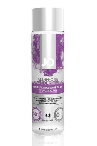 Универсальный массажный гель-лубрикант / All-in-One Massage Glide Lavender с ароматом лаванды 4oz -1