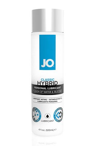 Водно-силиконовый лубрикант / JO Classic Hybrid 4 oz - 120 мл.