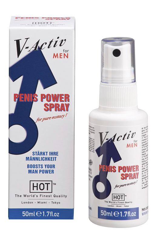 V-Active стимулирующий спрей для мужчин 50мл фото