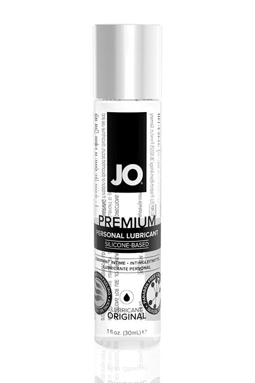 Классический лубрикант на силиконовой основе / JO Premium 1oz - 30 мл. фото