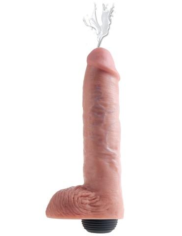 Фаллоимитатор с функцией семяизвержения King Cock 11