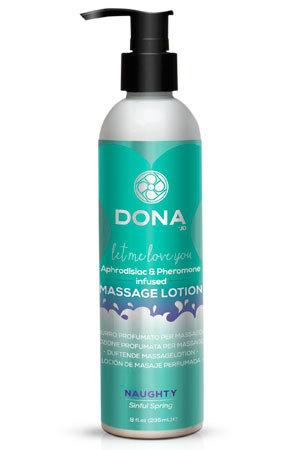 Увлажняющий лосьон для массажа DONA Massage Lotion Naughty Aroma: Sinful Spring 235 мл фото