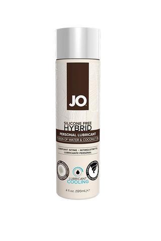 Водно-кокосовый лубрикант с охлаждающим эффектом / JO Lubricant Coco-Hybrid Cooling 4 oz - 120мл.