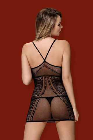Платье-сетка D 225 dress