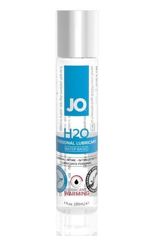Классический согревающий лубрикант на водной основе / JO H2O Warming 1oz - 30 мл.