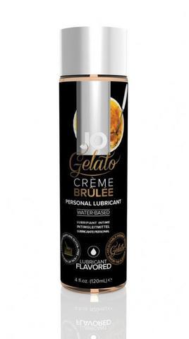 "Вкусовой лубрикант ""Крем-брюле"" / Gelato Creme Brulee 4oz - 120 мл."