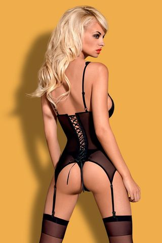 Корсет и стринги Emperita corset