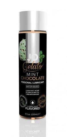 """Вкусовой лубрикант """"Мятный шоколад"""" / JO Gelato Mint Chocolate 4oz - 120 мл."""